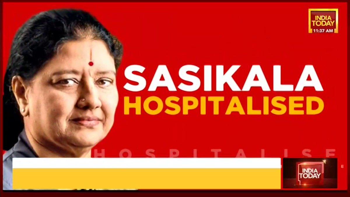 VK Sasikala admitted to ICU in Victoria Hospital in Bengaluru after testing positive for #coronavirus. Her condition is stable. | @nabilajamal_, @nagarjund #Sasikala #TamilNadu #Covid19 #ITVideo