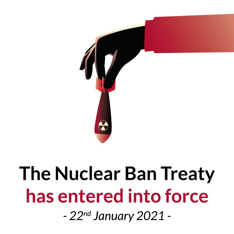 Today is a victory for humanity. #NuclearBan