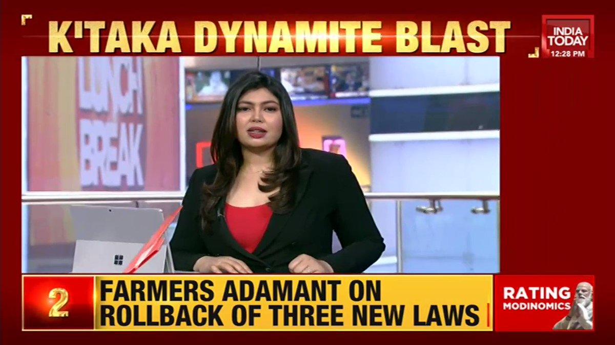 #KarnatakaDynamiteBlast | State CM orders high-level probe into the blast. Quarry owner and dynamite supplier have been arrested. | @nabilajamal_, @nolanentreeo #Karnataka #Shivamogga #ITVideo