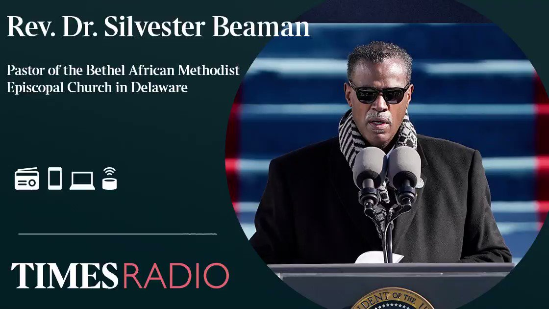 I would not allow the moment to be bigger than my assignment Rev. Dr. Silvester Beaman, Pastor of the Bethel African Methodist Episcopal Church in Wilmington, Delaware and friend of President Biden for 30 years talking to @JPonpolitics Listen on 🔊 Times Radio @POTUS