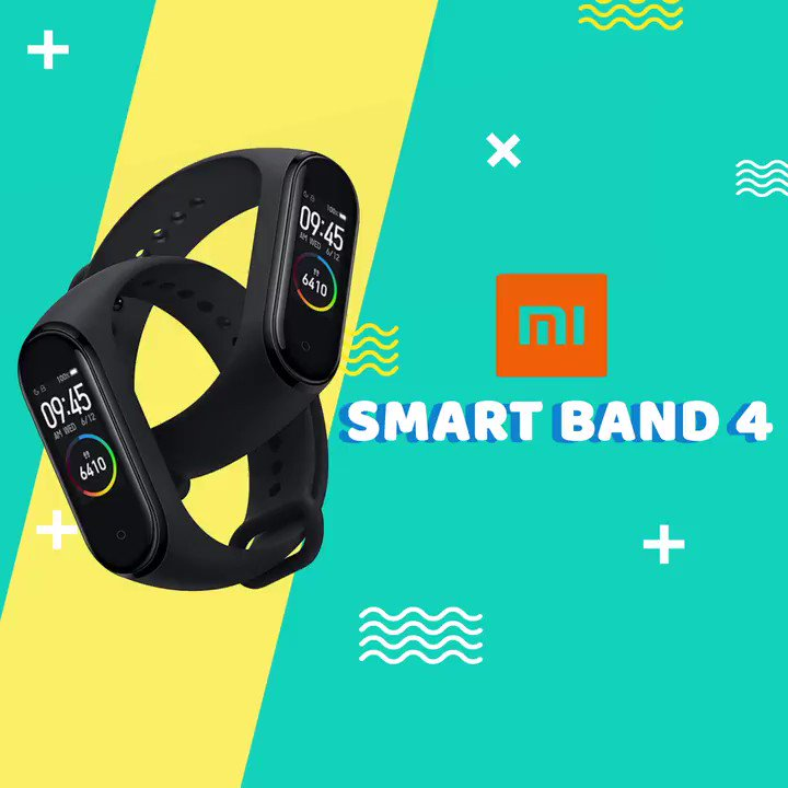 Take your fitness game to a whole new with the all-new Mi Smart Band 4. Get yours today at Flipkart for Rs. 2,299/- Only.