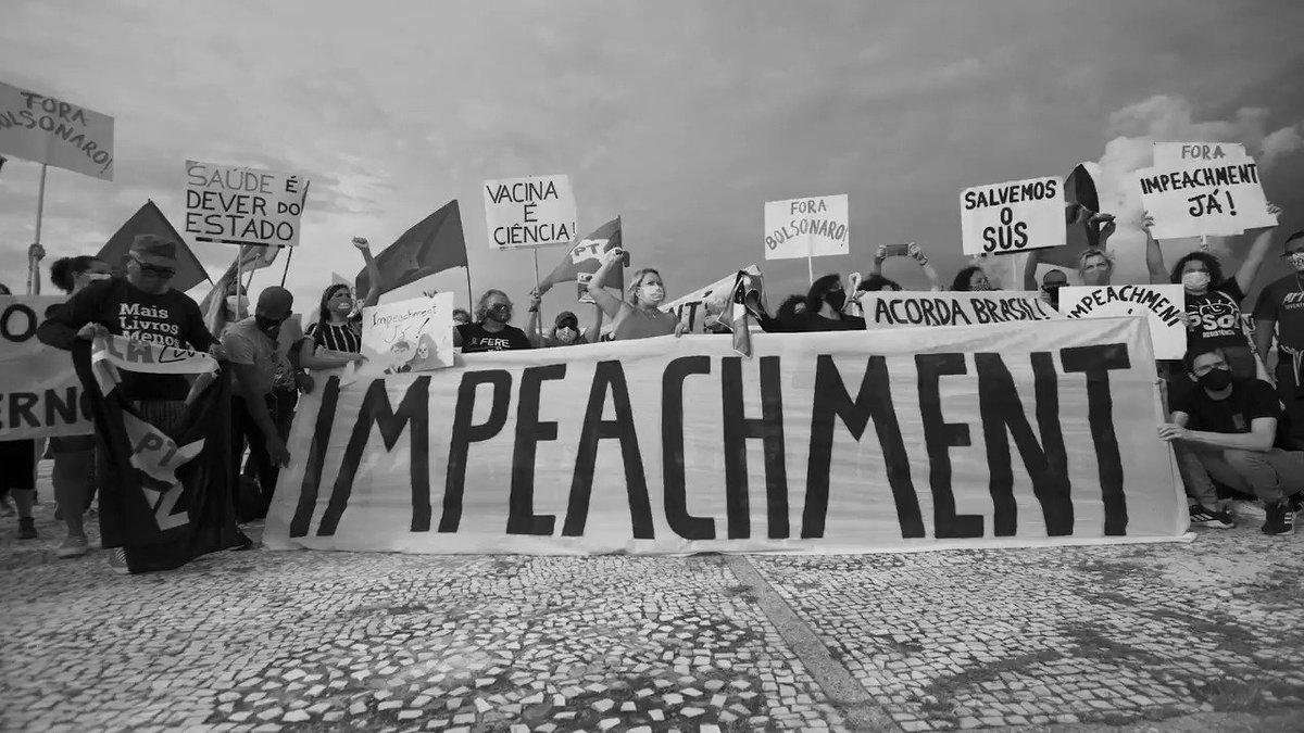 Ato em Brasília pede fora Bolsonaro e será no dia 24/1 ás 17 horas. Crédito: Trupe do Filme