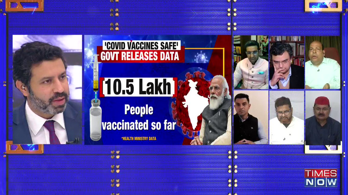 PM @NarendraModi has done very well. There should be no concerns regarding both Covishield and Covaxin. Indians should be given a choice between the two: @ARanganathan72, Author, tells Rahul Shivshankar on INDIA UPFRONT.|#ModiSnubsVaccineDoubters