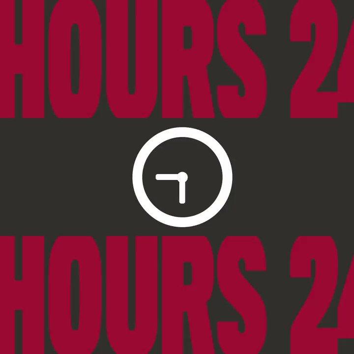 2⃣4⃣ hours until kickoff.  #GoBucs