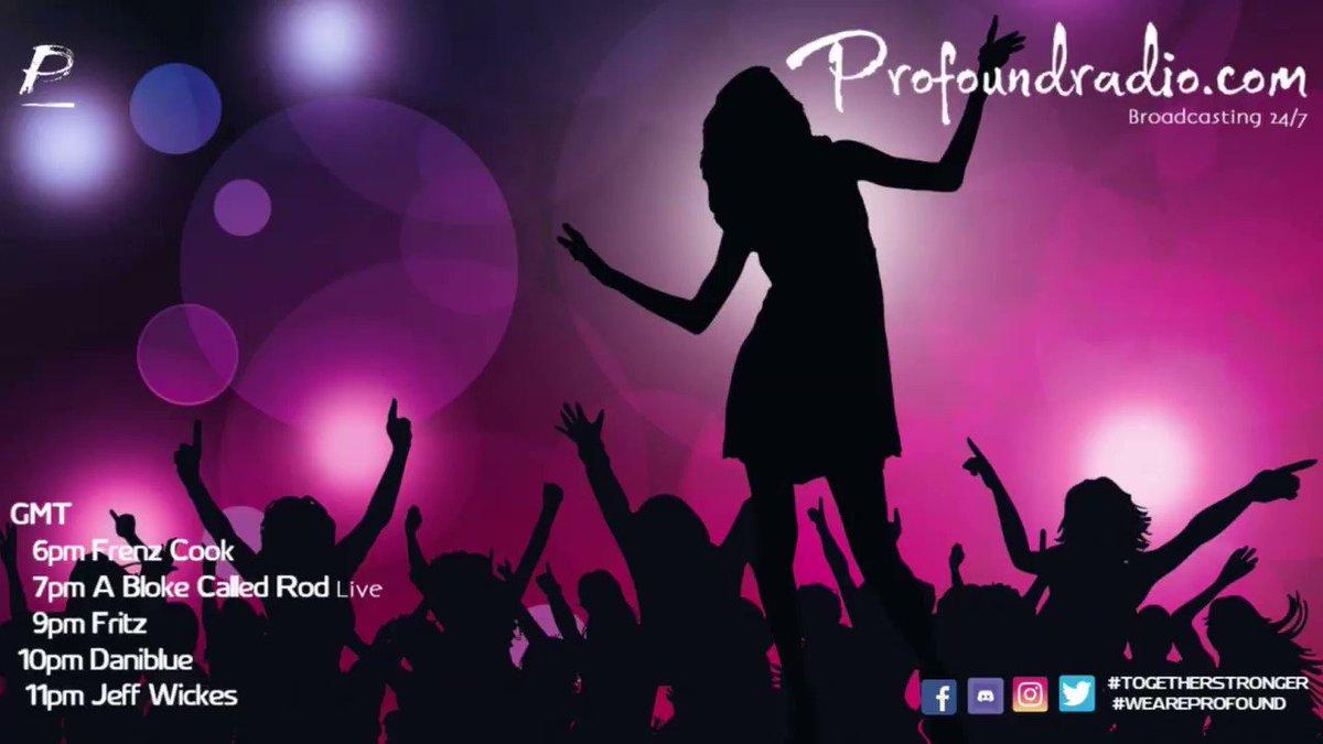 MUSIC 24/7 #togetherstronger #weareprofound @frenzcook @BlokeRod live @fritz1dj @danibluedj @Wickes36O #togetherstronger #weareprofound #housemusiclovers #houseparty #housemusicdj #housemusiclovers #house #housemusiclovers #housemusiclovers