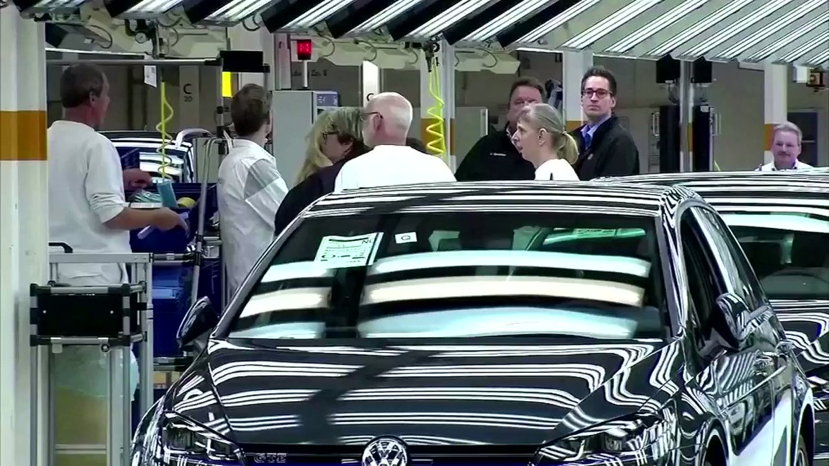 WATCH: Volkswagen reported a nearly 50% drop in its 2020 adjusted operating profit but said car deliveries recovered some ground in the fourth quarter