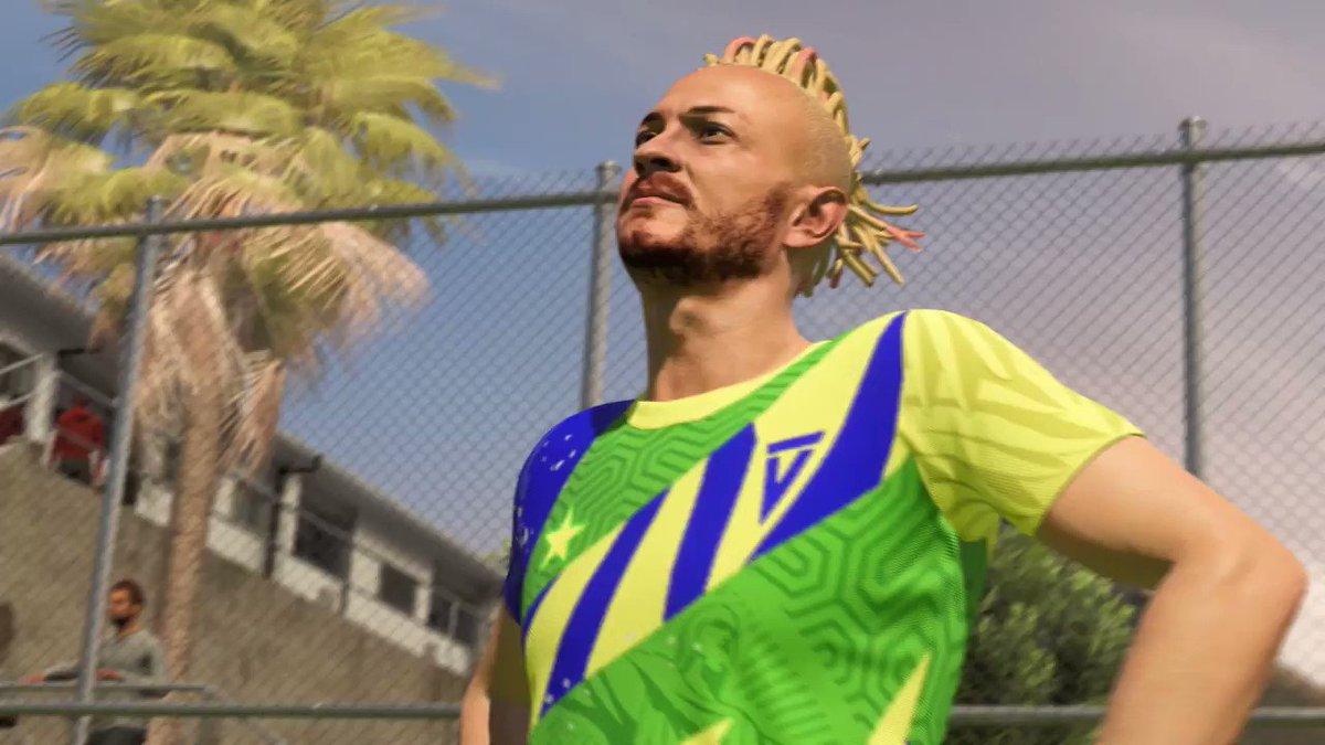 Depois de muita espera, o (futuro) pai tá ON! 🇧🇷  O @fred_b12 já tá na área no #VOLTA do #FIFA21!  Vai encarar o desafio?