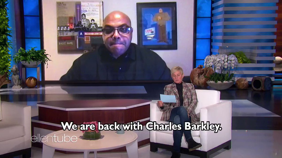 Charles Barkley has a hot take on @Shaq.