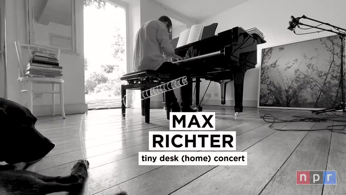 Start your week with 17 minutes of Max at his piano for @nprmusic's Tiny Desk (Home) Concert.  🎹 Now available @npr or search for Tiny Desk on YouTube