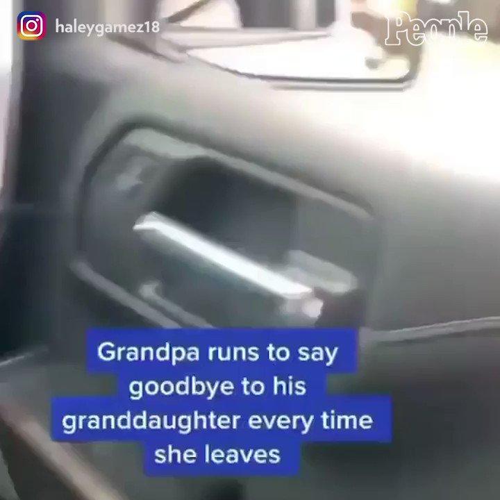 The sweetest goodbye! 😭
