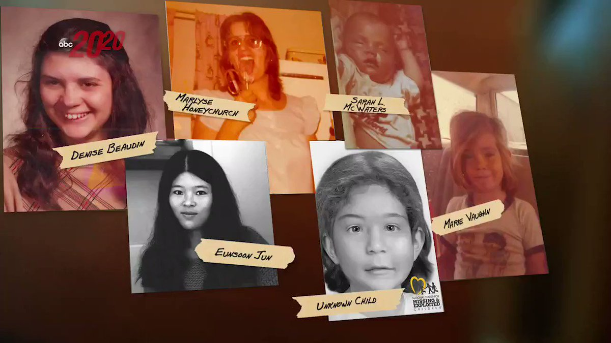 """Can you help police identify """"The Middle Child"""" in this New Hampshire murder case?  In 2000, the remains of an unidentified young girl was found in Allenstown, NH. She is one of six known victims police have connected to Terry Rasmussen.   #ABC2020 Friday"""