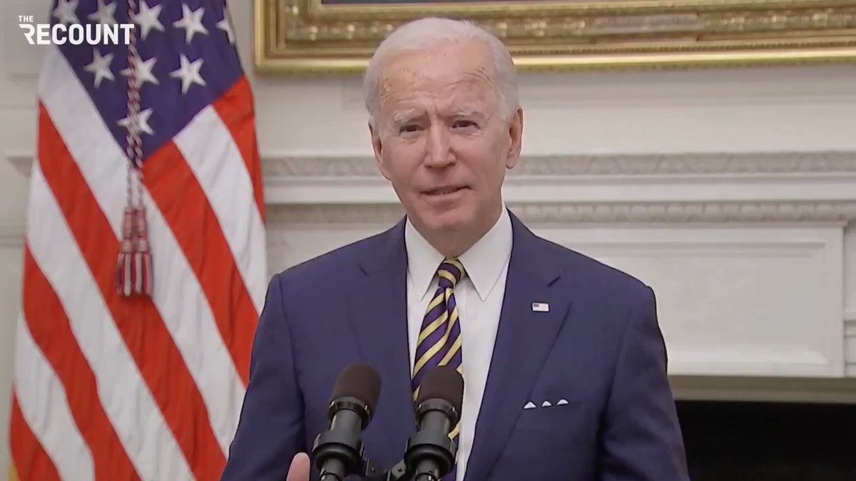 Replying to @MarkDice: Now in office, Joe Biden admits he can do nothing better than Trump to end the coronavirus pandemic.