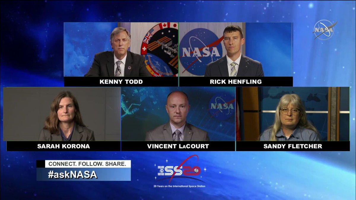 """.@MiguelTaveras_ wants to know, """"How do astronauts prepare for spacewalks?"""" #AskNASA 