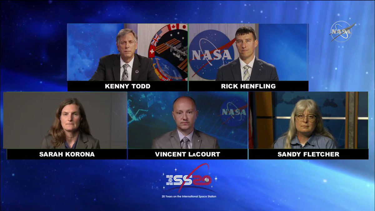 Kenny Todd, the @NASA station deputy manager, tells @thespaceupdate what the most important upgrades are for the space station. #AskNASA |