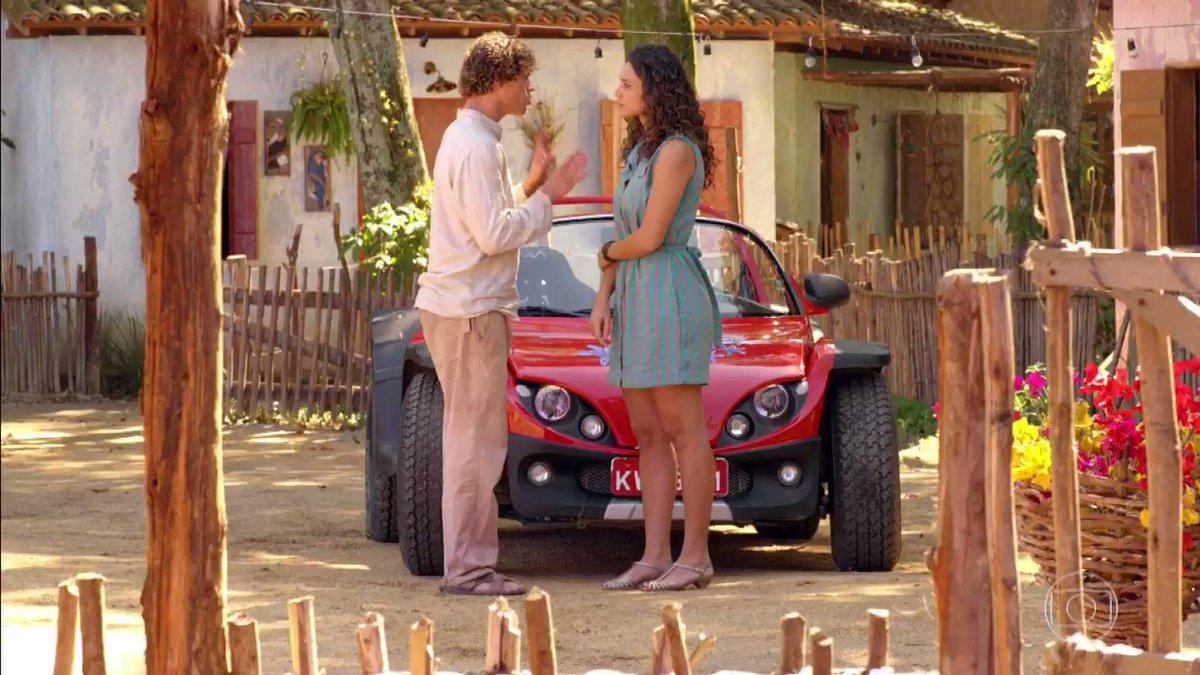 Agora que o Candinho descobriu, ele quer contar 🥺 #FlordoCaribe