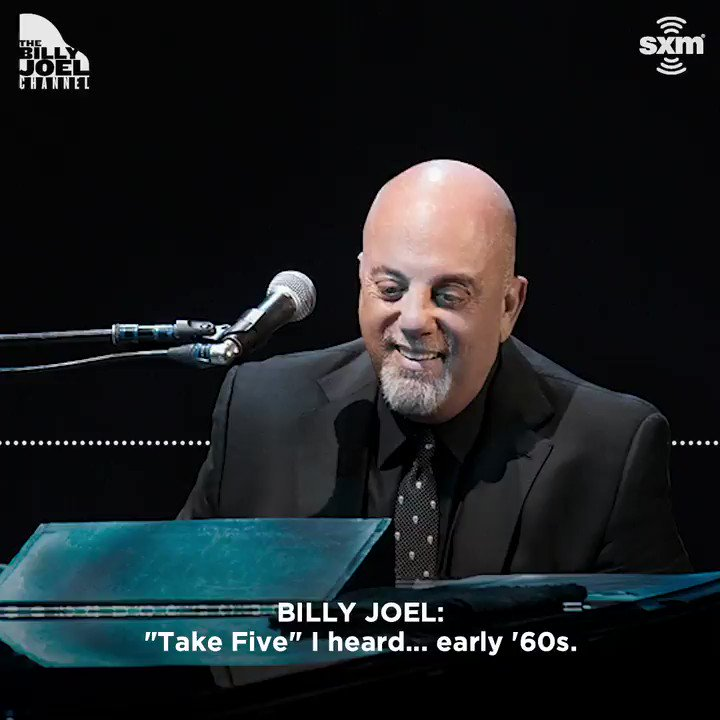 .@billyjoel's love for the Dave Brubeck Quartetgoes way back. Listen to 'BJ The DJ' tonight, 1/22 at 8pm ET on The Billy Joel Channel: