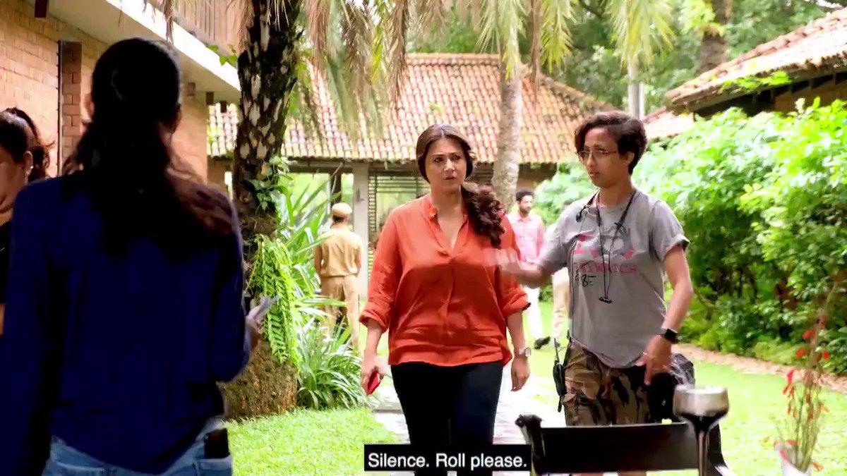 Catch the breathtaking Swastika Mukherjee #BehindTheScenes as she plays the fiery Jayati in #BlackWidows #WomenOnTop Streaming Now!