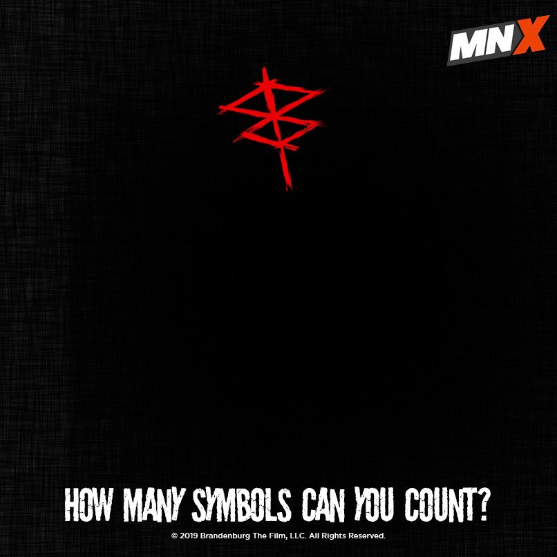 Evil can be tricky and difficult to spot. How many Brightburn symbols can you count in the above post? Comment your answers using #BrightburnOnMNX. Witness the evil manifest in Brightburn tomorrow at 11 PM!  #Brightburn #JacksonADunn #HollywoodMovie