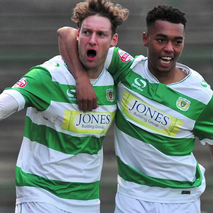 📅 𝐎𝐍 𝐓𝐇𝐈𝐒 𝐃𝐀𝐘 𝐈𝐍 𝟐𝟎𝟏𝟔  Ryan Bird and Tahvon Campbell scored to secure a 2-1 victory for #YTFC against Crawley.