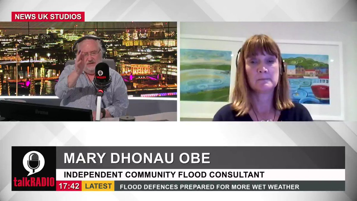 Independent community flood consultant Mary Dhonau says the government should double the expenditure on anti-flooding schemes and aim to help those who are flood victims to build back better. Watch the show ► youtu.be/37QOAhEUtd0 @mikeparry8
