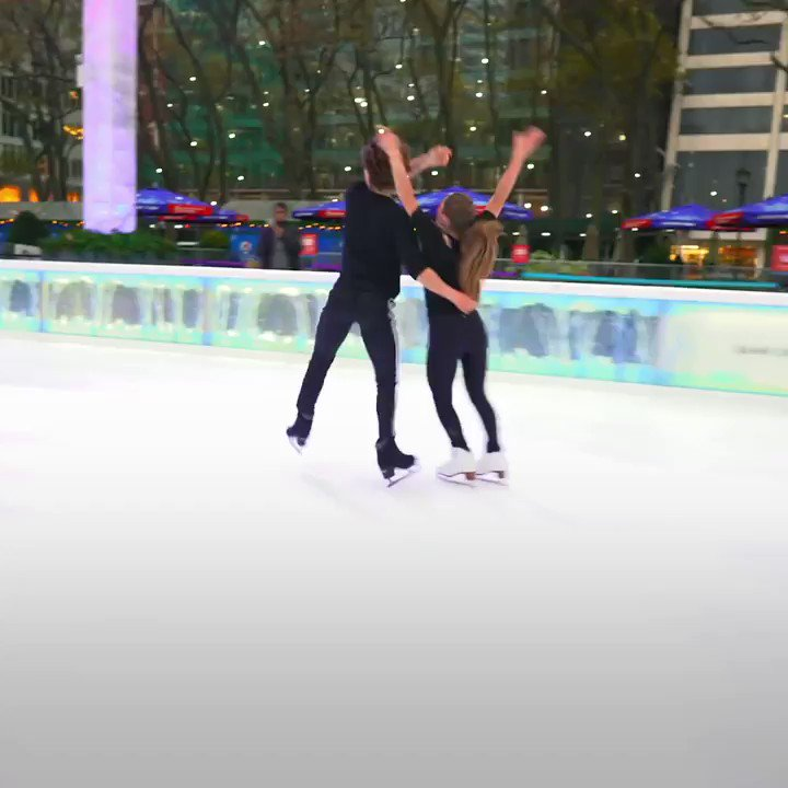 How many times do you think Oona & Gage Brown practiced this routine? Via @iceperspectives →