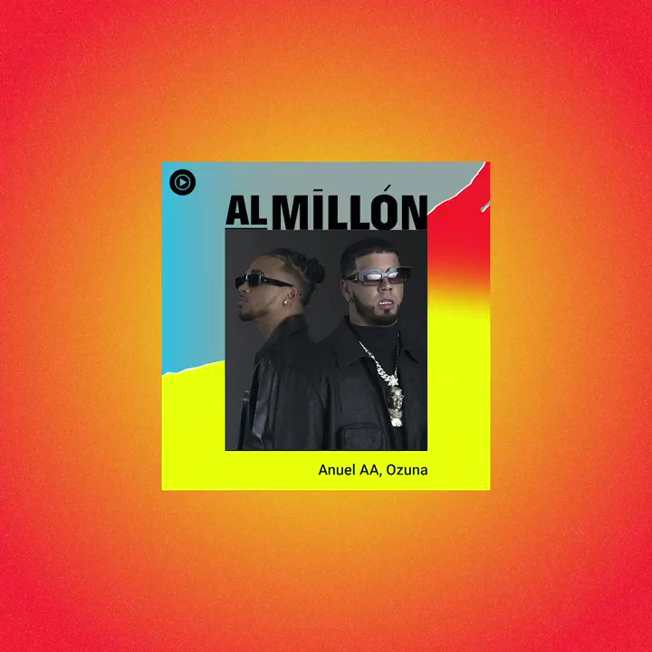.@Anuel_2bleA & @ozuna: godly pair 👑 #LosDioses estan aqui and on Al Millón featuring today's biggest Latin hits: #MykeTowers, #Camilo, #ElAlfa, #Juhn y muchos mas → https://t.co/feBg0bSqW8 https://t.co/GplgTNHsIh