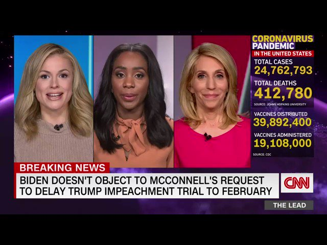 Join us in celebrating @DanaBashCNN @abbydphillip and @PamelaBrownCNN's official first weekend in their new roles.   Watch Abby anchor Inside Politics Sunday at 8amET, Dana anchor State of the Union at 9am & 12pmET, and Pam anchor CNN Newsroom on Saturdays+Sundays 6-9 pmET.