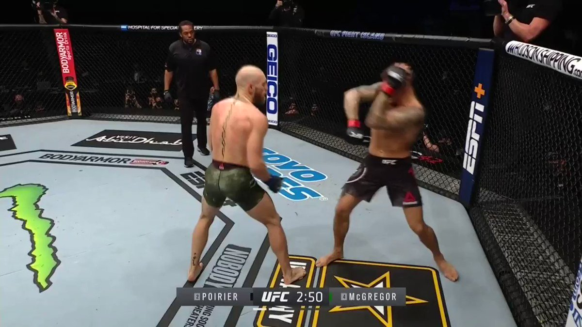 Replying to @SpinninBackfist: DUSTIN POIRIER DOES IT #UFC257