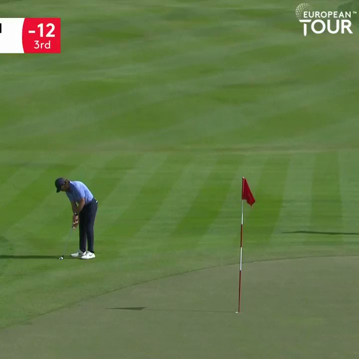 That could be big for Tommy.  An unlikely birdie at 5 and he's now 13 under.  #ADGolfChamps #RolexSeries