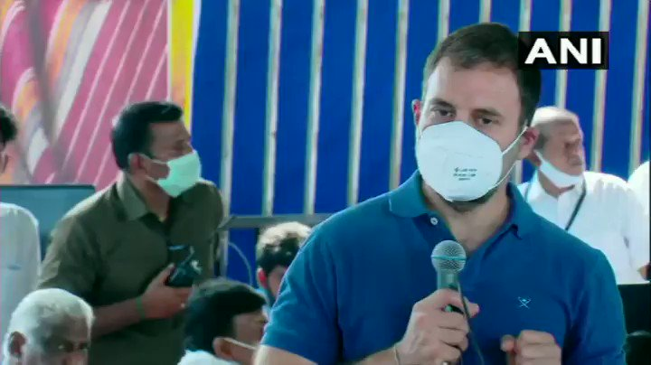 #WATCH   ...If India's labourers, farmers & weavers were strong, protected & given opportunities, China would never dare to come inside India...: Rahul Gandhi, Congress in Erode, Tamil Nadu