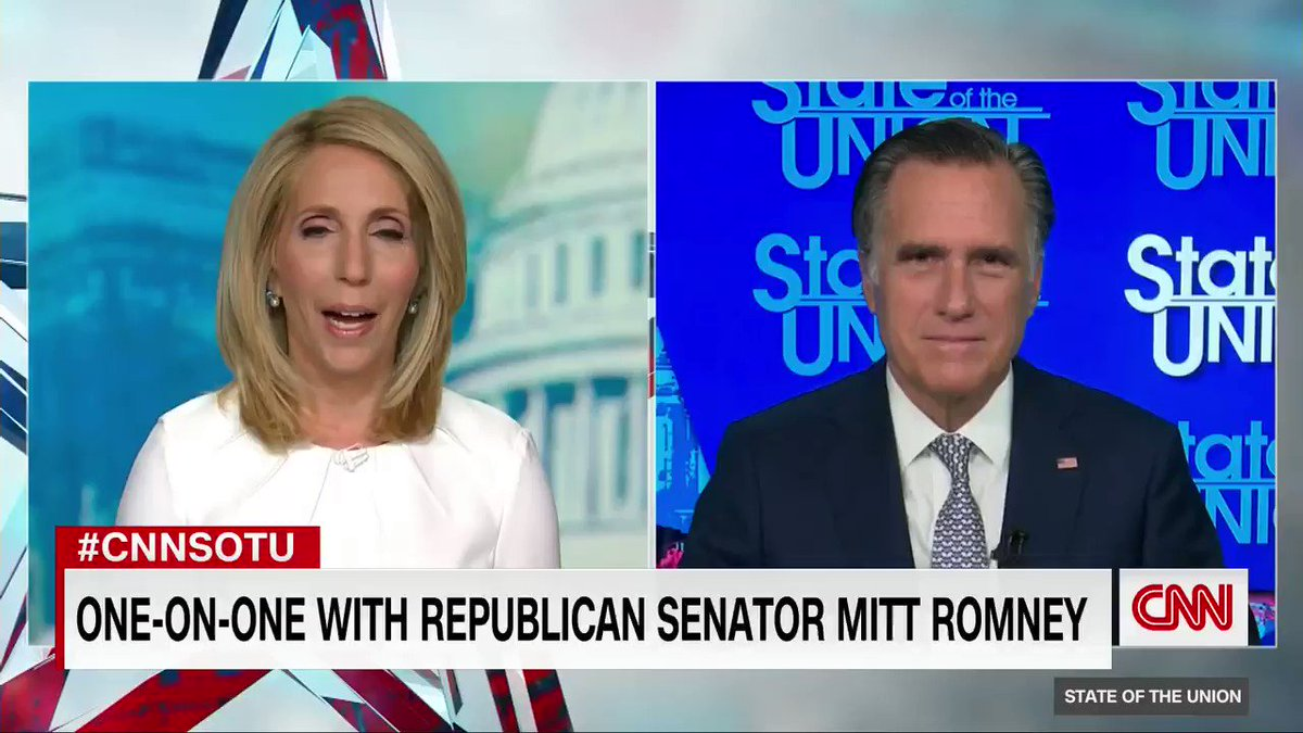 "GOP Sen. Mitt Romney says his impeachment vote will be ""based upon the facts and the evidence as is presented.""  Romney also says he believes ""that what is being alleged and what we saw, which is incitement to insurrection, is an impeachable offense. If not? what is?"" #CNNSOTU"
