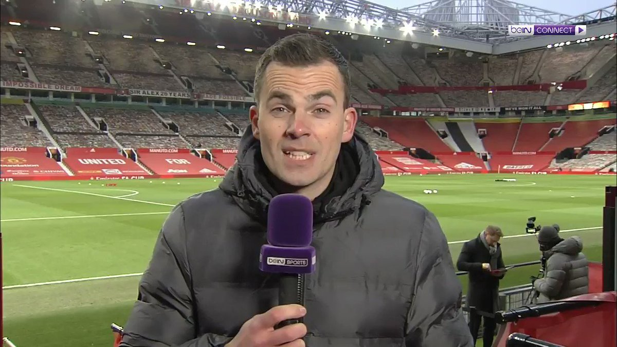 The team news is in from Old Trafford! 5 changes from both teams!   #FACup   Watch Now -