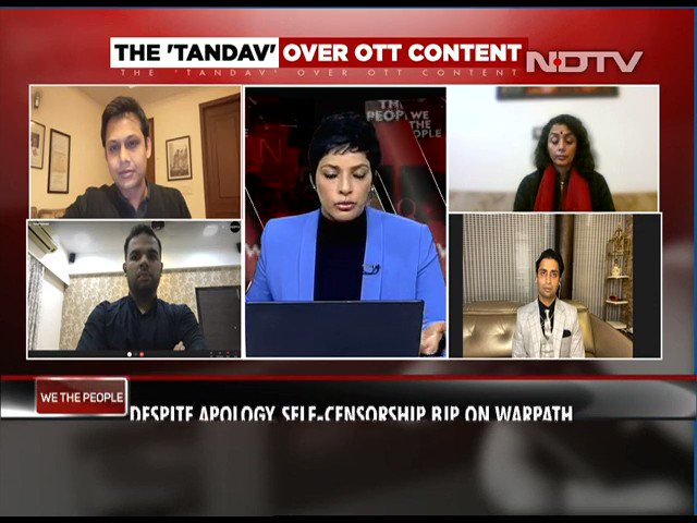 "#WeThePeople | ""A blanket censorship will hamper the growth of OTT. However, some sort of self-regulation is required for sensitive issues or if fake news is being propagated"": Karan Taurani, VP, Elara Capital"