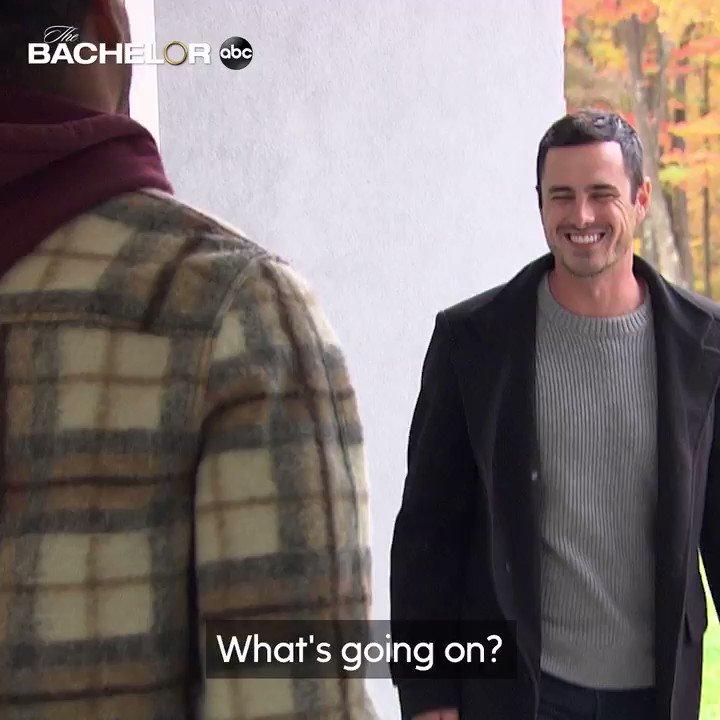 Replying to @BachelorABC: With more women joining this season, Matt gets guidance from @benhiggi! #TheBachelor