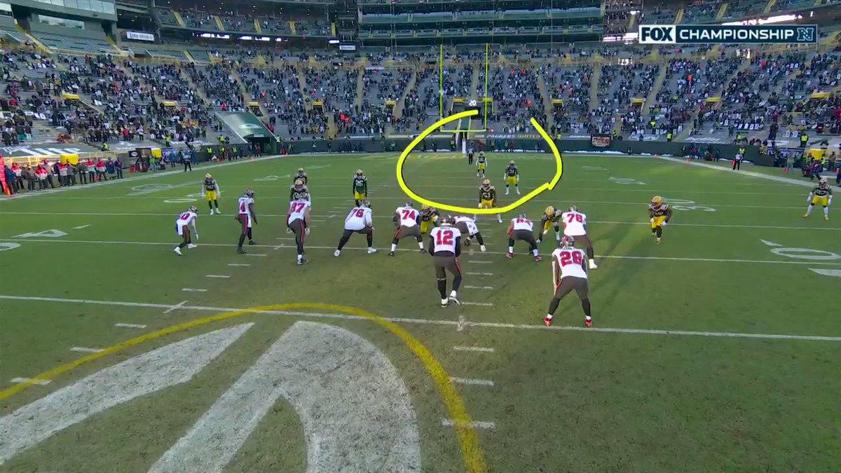 🐐  #NFLPlayoffs #GoBucs  📺: #TBvsGB on FOX 📱: NFL app // Yahoo Sports app:
