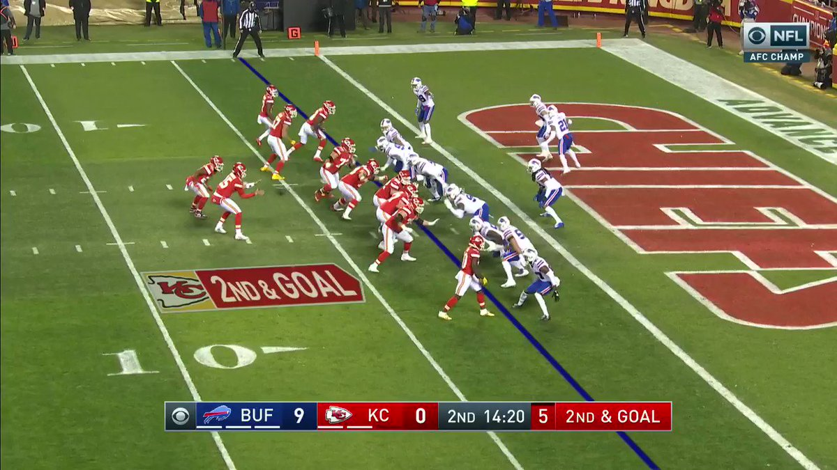 Chiefs respond with a touchdown of their own.  9-7 Bills  #BillsMafia | #ChiefsKingdom  @FrankDangelo23