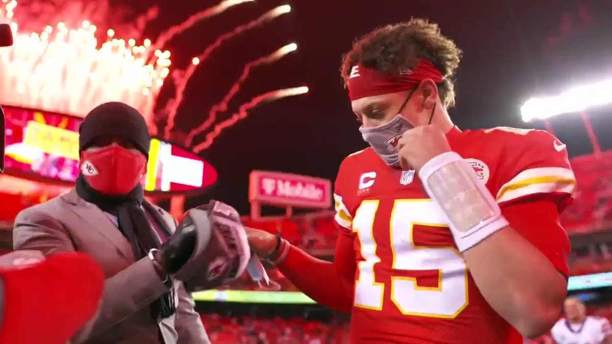 🔙 to the Super Bowl. @PatrickMahomes 🙌  (via @NFL)  https://t.co/vvk8wzUp2U
