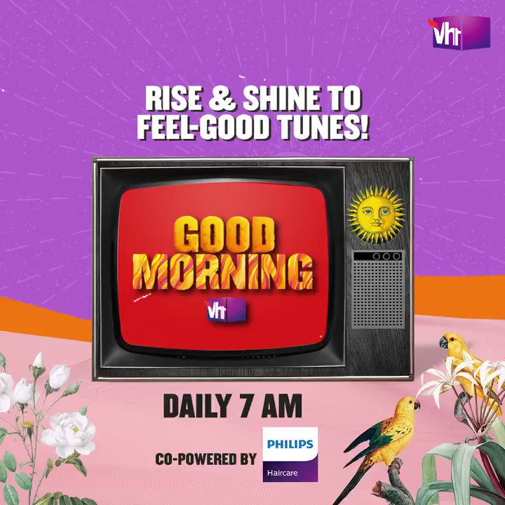 Guess what? Waking up early does have its perks!  Tune-in to Good Morning Vh1 & begin your day with handpicked superhits, only on #Vh1India.   #GetWithIt @philipsindia
