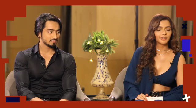 """""""If I could have 2 celebs locked with me in house they would be @SidMalhotra and..."""": @ruhisingh11   #TalkingFilms #RapidFire #BollywoodHungama YT:"""