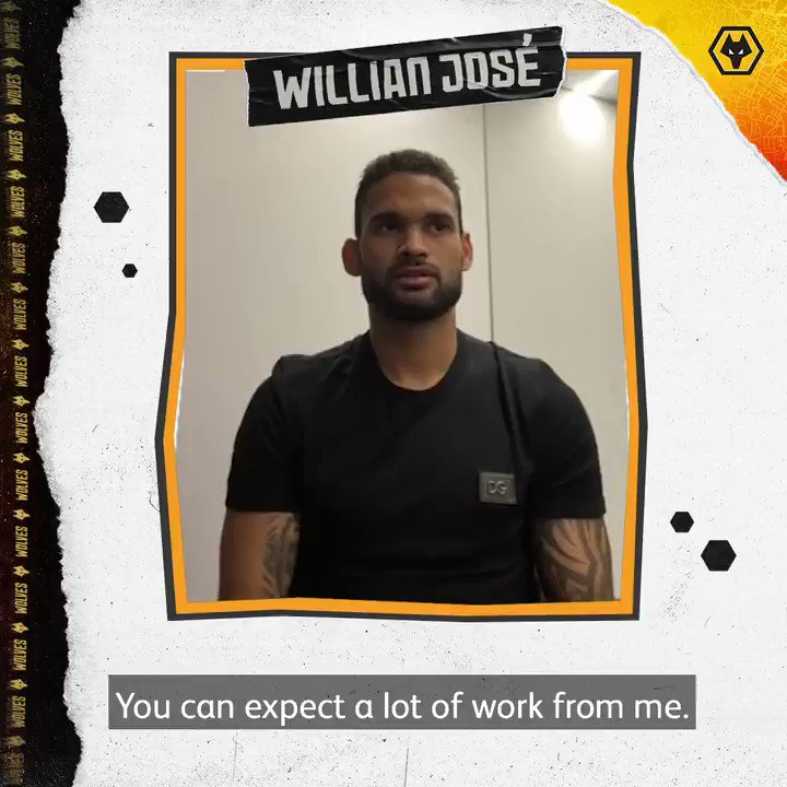 What to expect from @willianjose19?  Let the man himself explain...  🇧🇷🐺