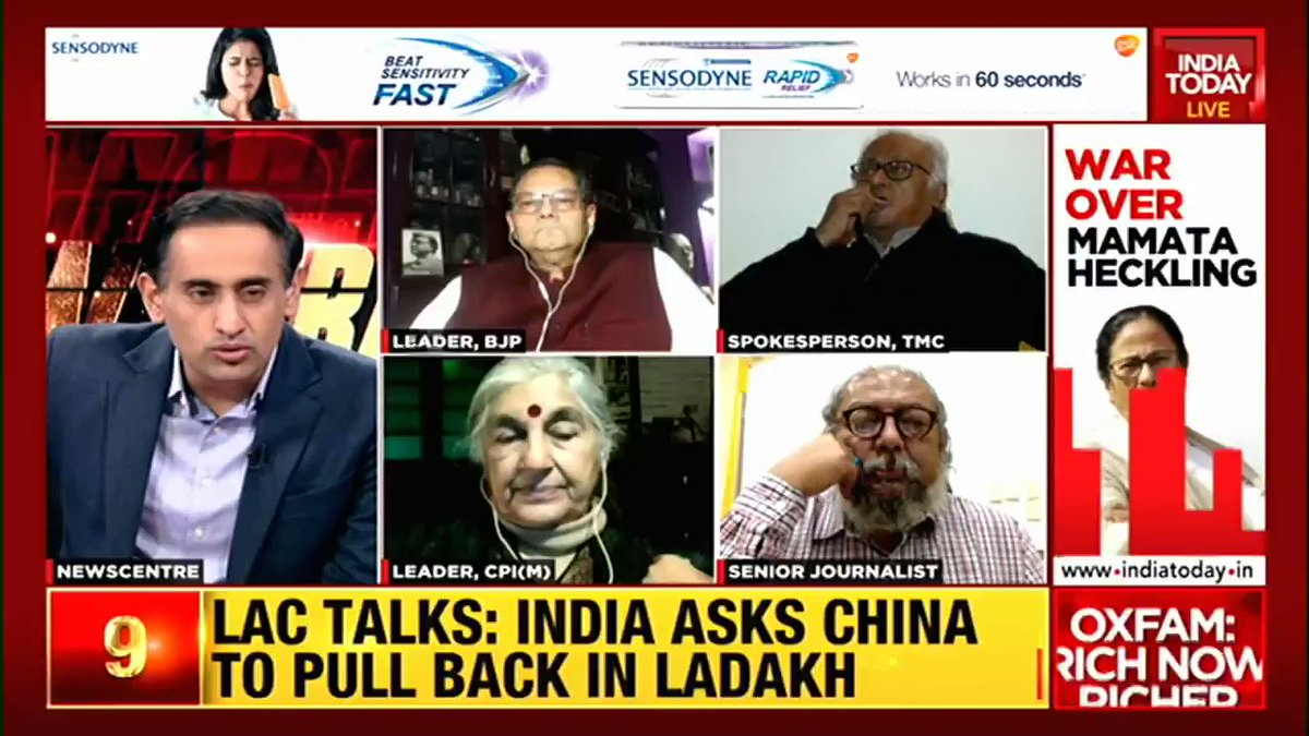 What significance does Jai Shri Ram chants have at Subhas Chandra Bose's event, questions Prof. Sougata Roy, TMC spokesperson.  BJP leader Chandra Bose says the slogan wasn't to insult anyone.  #Newstrack with @RahulKanwal #WestBengal #TMC #BJP #Politics #ITVideo