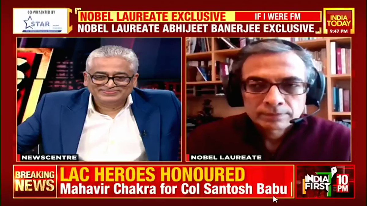 Don't use tax incentives for the rich: Nobel Laureate Prof Abhijit Banerjee's suggestion to the Finance Minister ahead of #Budget2021  #Business #Economy #coronavirus #ITVideo