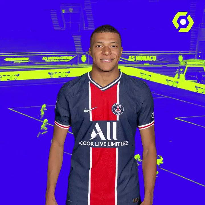 ⚽️ 14 buts 👟 6 passes décisives  @KMbappe est le joueur le plus décisif de @Ligue1UberEats cette saison ! 👌