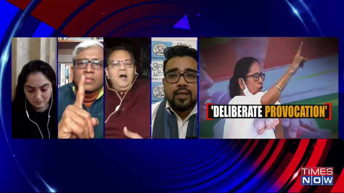 BJP has become a 'Ram-bharose' party. They have no answers to basic issues that is why they bring up Ram: @DrRijuDutta_TMC, Member TMC, tells Padmaja Joshi on @thenewshour AGENDA. | #NetajiPortraitFactCheck