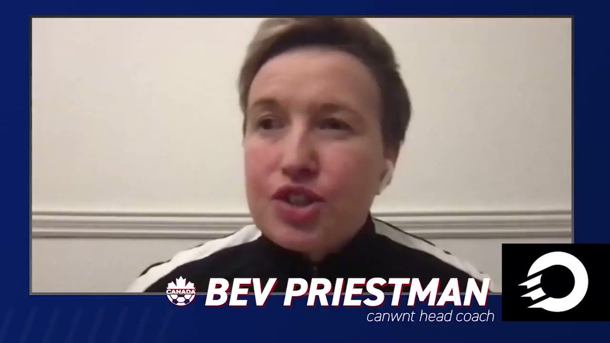 How important is it for the #CanWNT to get 2021 off on the right foot vs. #USWNT?   Bev Priestman touches on the 1st match of the 2021 SheBelieves Cup 🏆