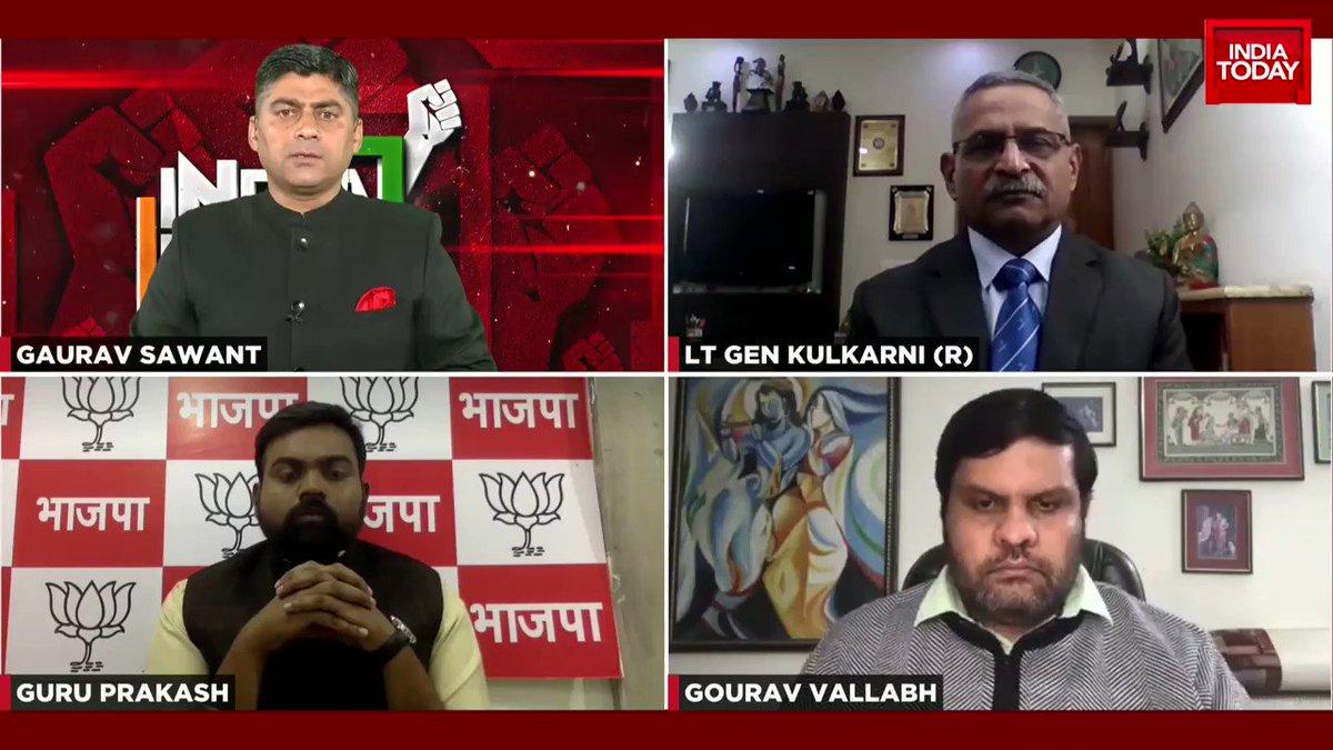 Why are veterans upset with Rahul Gandhi's statement? Lt Gen Kulkarni (R) tells us.  Congress' Gourav Vallabh shares his opinion.  #IndiaFirst with Gaurav C. Sawant  #ITVideo #RahulGandhi #Congress