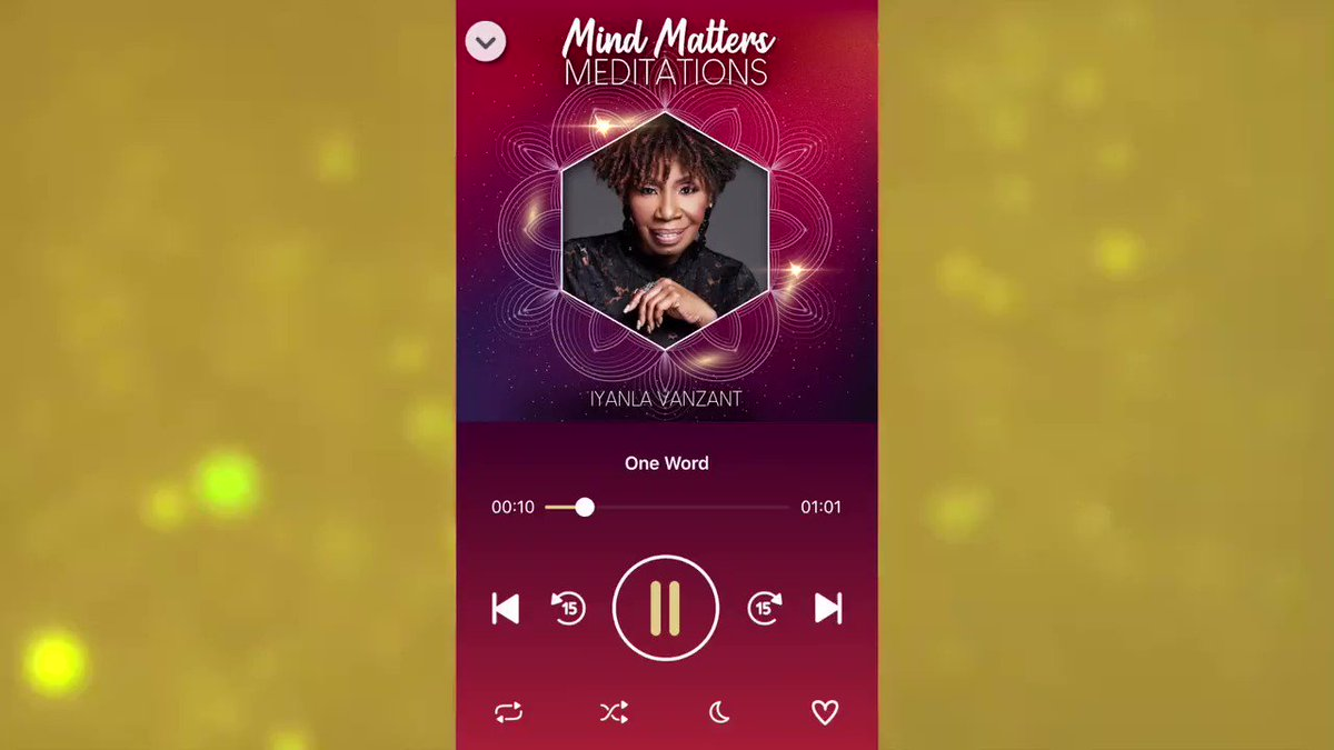 NEW! Mind Matters Meditations To Soothe and Heal the Mind by Iyanla Vanzant   Now available for iOS and Android.  #iyanla #iyanlavanzant #iyanlameditations #mindmattersmeditations #fixmylife #iyanlafixmylife #fearnot #peace #peacefulmeditations