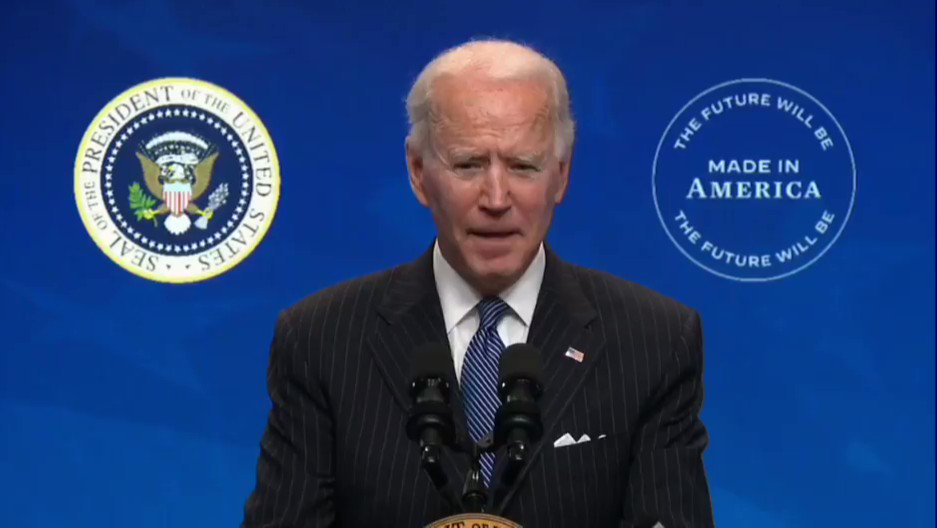 "President Biden: ""Unity requires you to eliminate the vitriol."" https://t.co/VlkCyFYSr8"