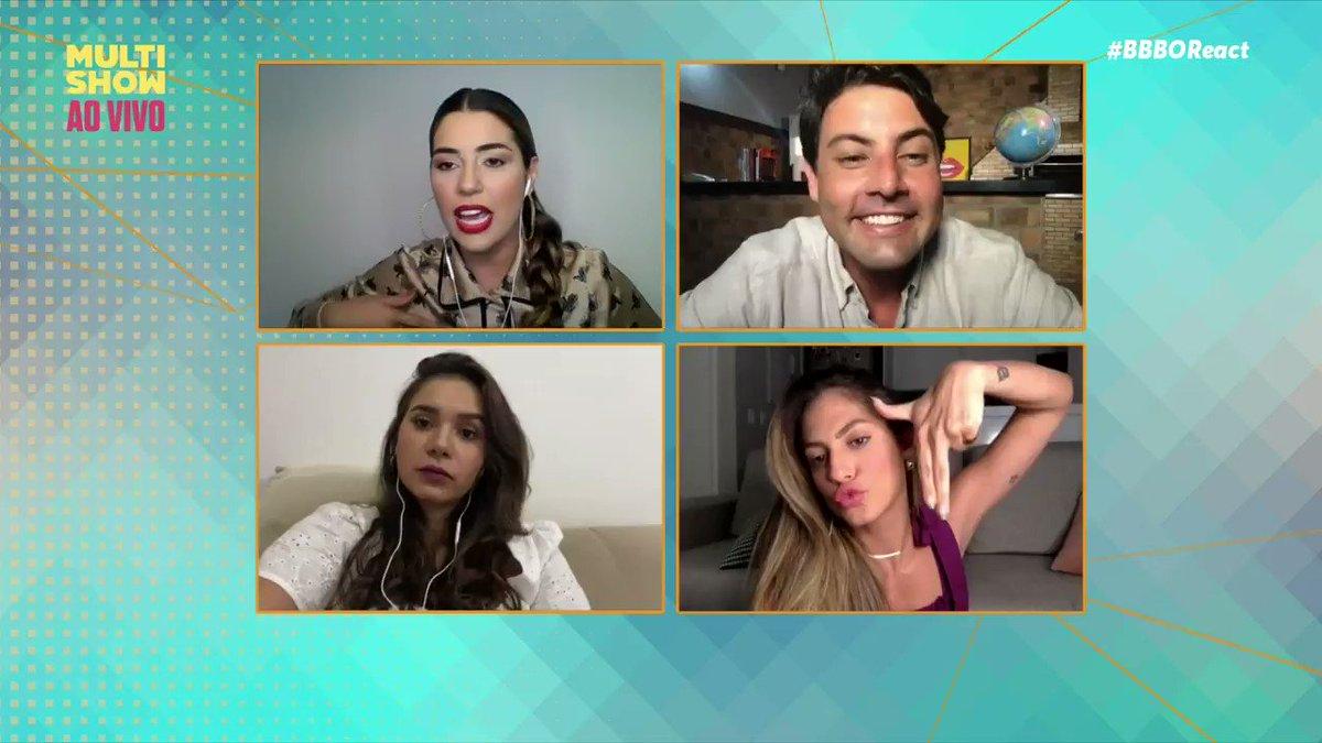 O #BBBOReact acabou mas QUARTA-FEIRA tem mais @amorimvivian_ e @brunodeluca, no meu canal! ✨ Eles comandam o #BBBAEliminação e você, CLARO, não pode perder, ok? ✌️ #BBB21 #RedeBBB