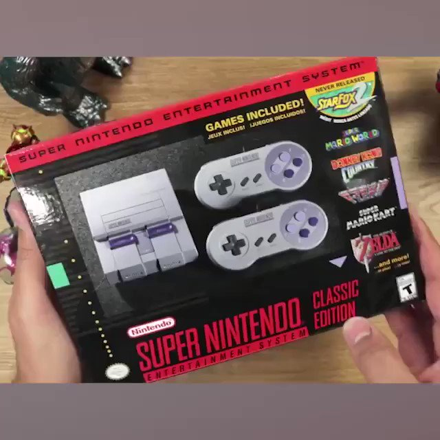 🎮 Super NES Classic😍I dream of every gamer who grew up! 🚀A trip back to the past